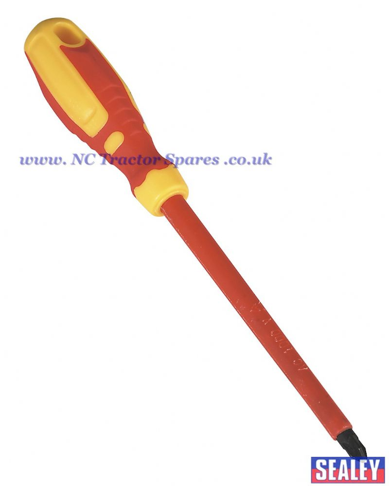 Screwdriver Pozi #3 x 150mm VDE/TUV/GS Approved GripMAX